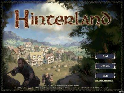 Hinterland коды к игре (читы)